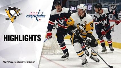 Penguins @ Capitals 5/1/21   NHL Highlights