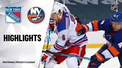 Rangers @ Islanders 5/1/21   NHL Highlights