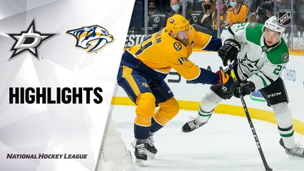 Stars @ Predators 5/1/21   NHL Highlights