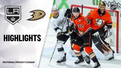 Kings @ Ducks 5/1/21   NHL Highlights