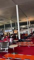 DOCUMENT. Crainte du variant indien : une annexe de la zone d'attente aménagée en urgence à Roissy