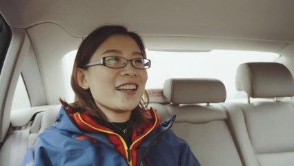RIDE WITH WANG BINGYU - China's world Curling Champ
