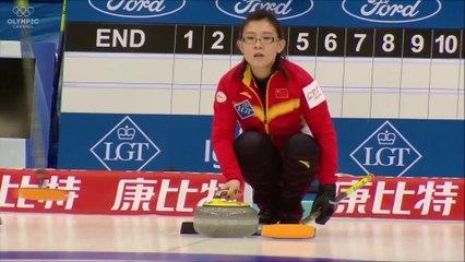 WANG BINGYU CURLING WORLD CHAMP at  Beijing 2018
