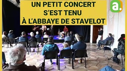 "Un concert ""Still Standing for culture"" à l'Abbaye de Stavelot"