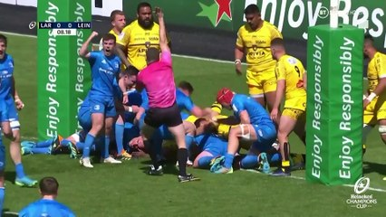 La Rochelle v Leinster Rugby: semi-final highlights