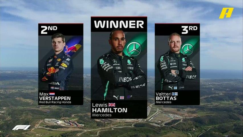 تعرف على الترتيب النهائي لسباق جائزة البرتغال الكبرى
