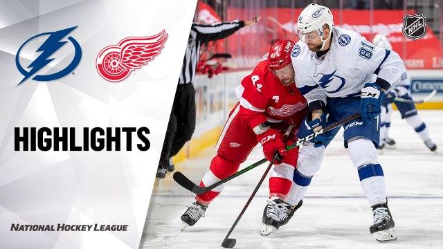 Lightning @ Red Wings 5/2/21   NHL Highlights