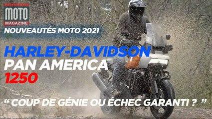 Harley Davidson Pan America coup de génie ou échec garanti Essai Moto Magazine