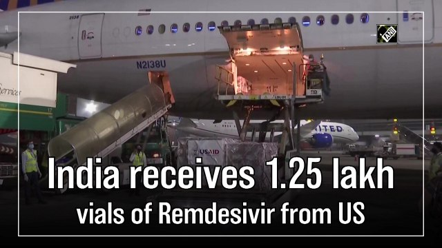 India receives 1.25 lakh vials of Remdesivir from the United States