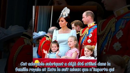 Kate Middleton - découvrez le surnom trop adorable qu'elle donne à la princesse Charlotte