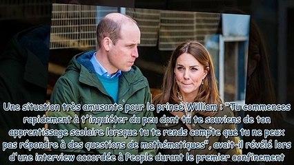 Kate Middleton - la duchesse se confie sur le soutien du prince William pendant le confinement