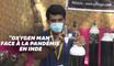 En Inde, il fournit gratuitement de l'oxygène aux habitants des bidonvilles