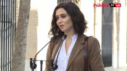 Los candidatos a la presidencia de la Comunidad de Madrid hablan después de votar