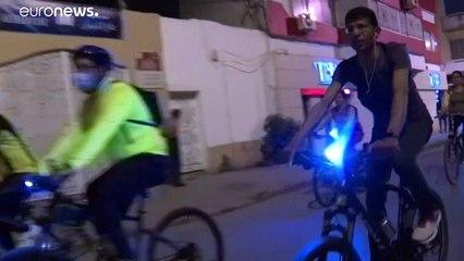 حظر التجول في تونس أعاد الدراجات الهوائية إلى الشوارع