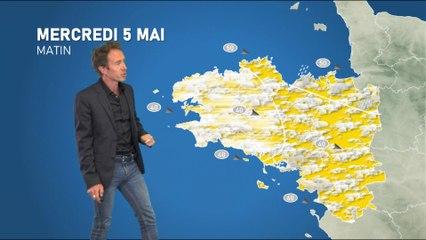Illustration de l'actualité Bulletin météo pour le mercredi 5 mai 2021