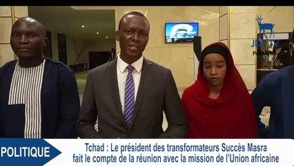 Point de la rencontre entre SUCCES MASRA  et l'Union Africaine