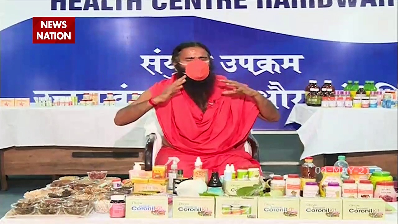 COVID19 : Baba Ramdev Exclusive on News Nation on COVID 19 treatment