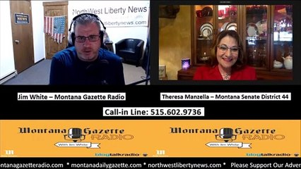 Montana Gazette Radio – Montana Senator Traumatized in Helena