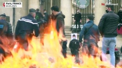 شاهد: نشطاء يتظاهرون في باريس مطالبين البرلمانيين باحترام مقترحات اتفاقية للمناخ