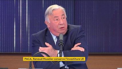 """Régionales en Paca : """"La recomposition politique annoncée par le Premier ministre a échoué"""", assure Gérard Larcher"""