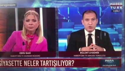 Habertürk'te MHP'ye Ebru Baki tepkisi: Ekrandayım, tweet atıp çıkmıyorum
