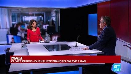 Mali : le journaliste Olivier Dubois enlevé à Gao par un groupe jihadiste
