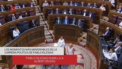 Repasamos los momentos más trascendentales de Pablo Iglesias en la política
