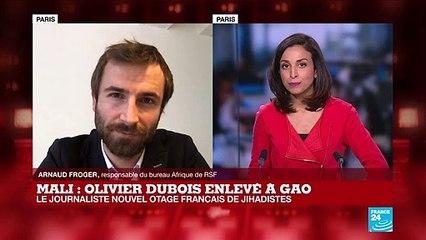 """Enlèvement d'O. Dubois au Mali : """"Cela atteste des grands dangers auxquels sont encore exposés les journalistes"""""""
