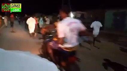 Kankan : les jeunes manifestent contre l'interdiction de Qiyam-Al-Layl