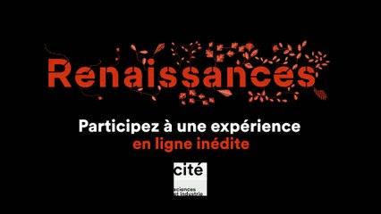 """Teaser de lancement de l'exposition """"Renaissances"""", 2021"""