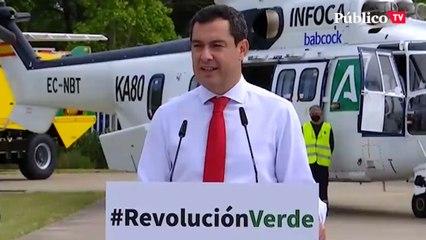 """Juanma Moreno: """"Mientras nadie me fuerce, aquí hay legislatura para rato"""""""