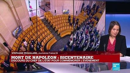 Emmanuel Macron commémore les 200 ans de la mort de Napoléon, figure toujours controversée