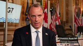 Raab dismisses claims Covid rules were waived for G7