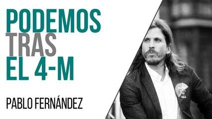 Podemos tras el 4-M - Entrevista a Pablo Fernández - En la Frontera, 5 de mayo de 2021