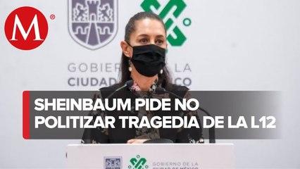 Mezquino, pensar en daño político por accidente en Línea 12 del Metro_ Sheinbaum