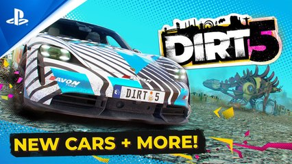 Dirt 5 - Energy Content Pack and Free Update Out Now! - PS5, PS4