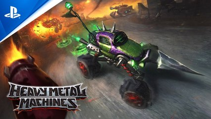 Heavy Metal Machines - Gameplay Trailer - PS5, PS4