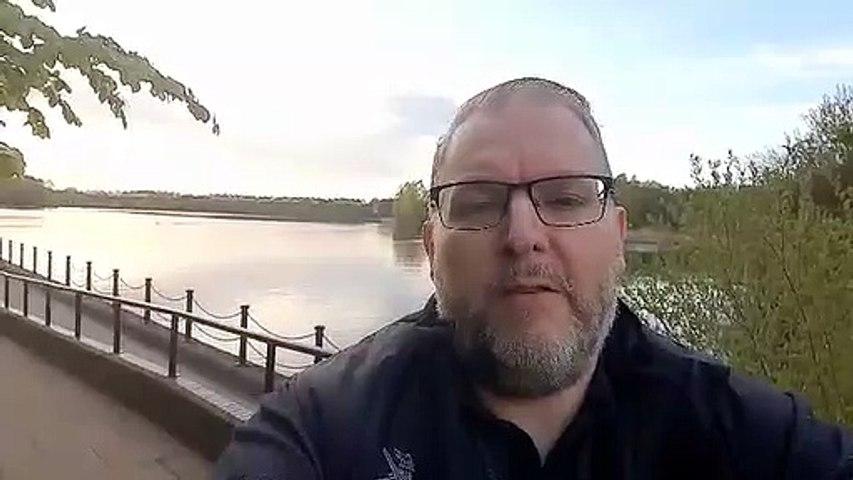 Darren Burke, reporter video, May 6