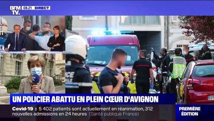 Un policier abattu en plein cœur d'Avignon - 06/05