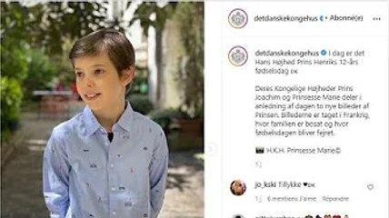 Ce 4 mai 2021, le prince Henrik fêtait ses 12 ans. C'était une occasion pour partager 2 photos dont