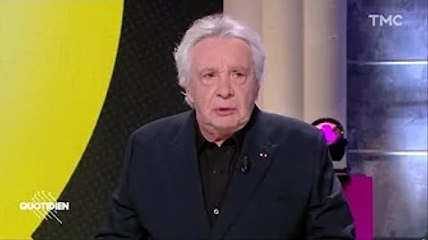 Michel Sardou : cette remarque sur le vaccin qui a mis Yann Barthès mal à l'aise