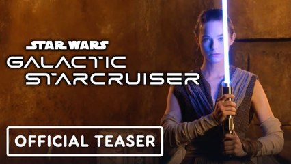 Star Wars- Galactic Starcruiser - Official Realistic Lightsaber Teaser Trailer