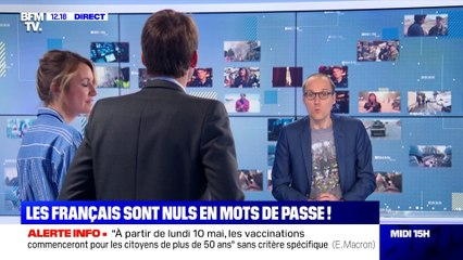 Mots de passe : les Français mauvais élèves - 06/05
