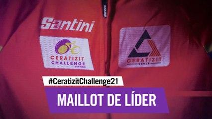 ❤️ Maillot de líder   Santini x CERATIZIT Challenge 21
