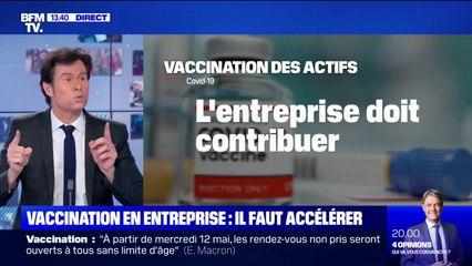 63 500 doses injectées seulement: La vaccination en entreprise, au ralenti, devrait s'accélérer