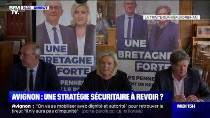 """Marine Le Pen: """"L'autorité de l'État est à un niveau de délitement jamais atteint"""""""