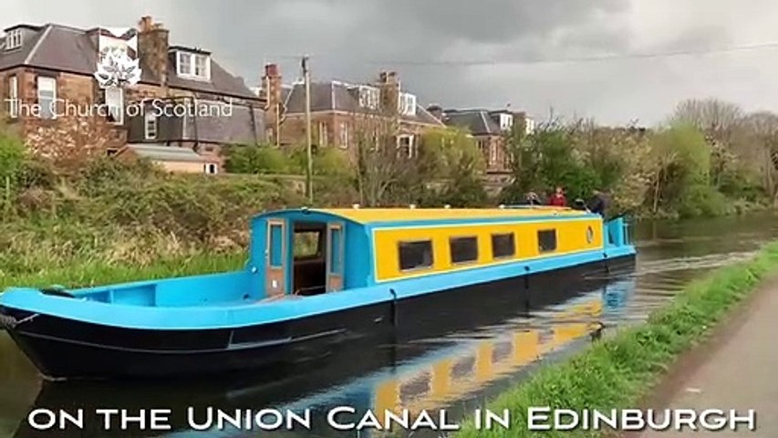 A 60ft canal boat which will be used for spiritual and educational pursuits has arrived at its new home in Edinburgh
