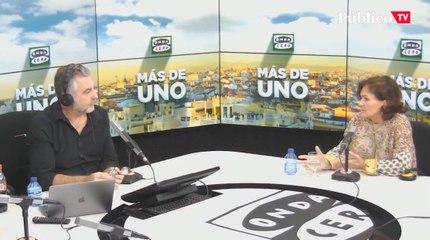 """Carmen Calvo, sobre Ayuso: """"Veo una líder del PP muy, muy de derechas"""""""