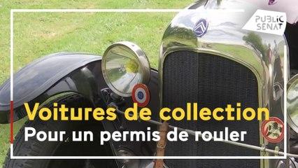 Voitures de collection : pour un permis de rouler