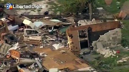8 heridos y cuantiosos destrozos por varios tornados en Texas y Alabama